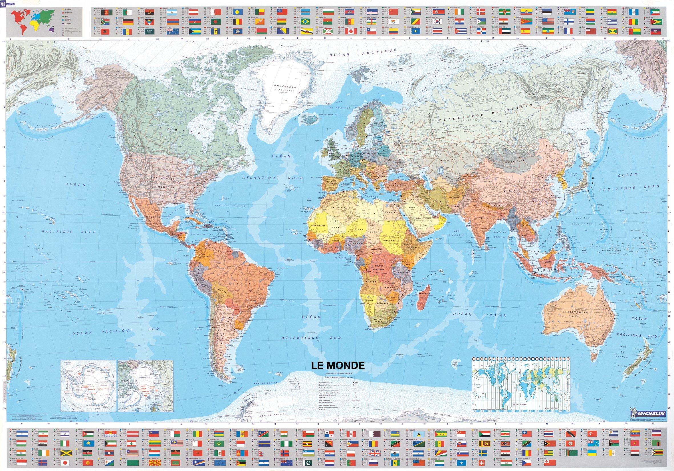 comment choisir une carte du monde