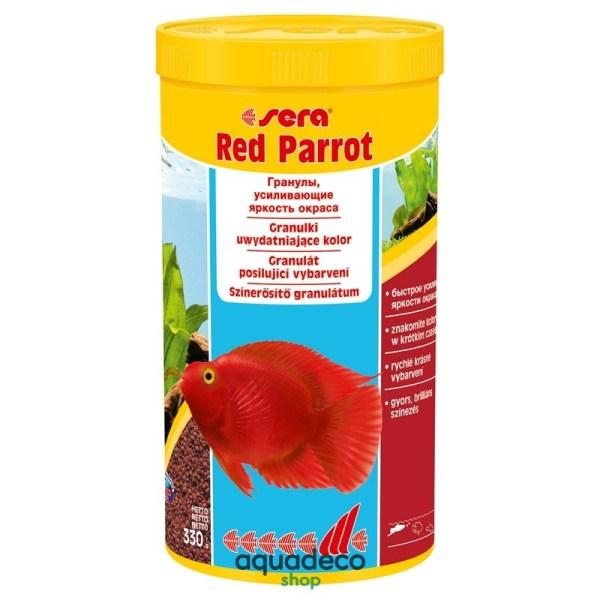 Sera red parrot - корм для рыб Красный попугай 1000 ml: купить в Киеве с доставкой