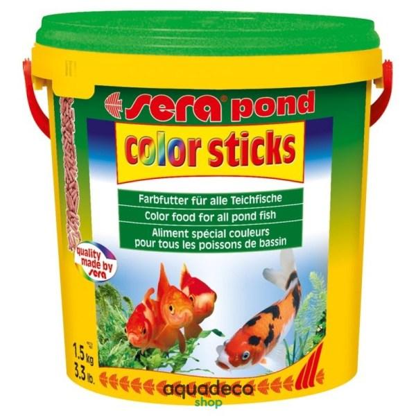 Sera pond color sticks - для зол. и др. холодновод. рыб. Гран. 10000 мл: купить в Киеве с доставкой