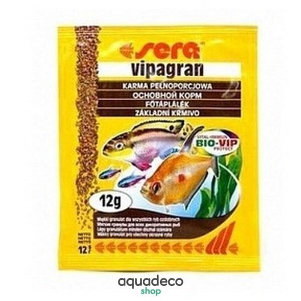 Sera vipagran - корм для всех аквариумных рыб. Гранулы 12 г: купить в Киеве с доставкой