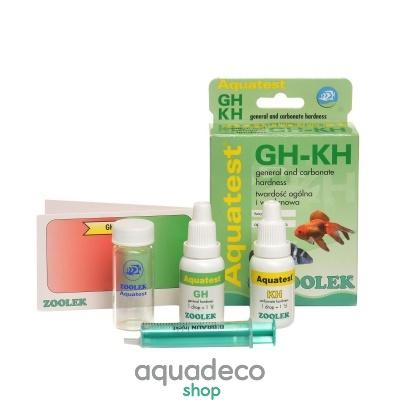 Купить Тест жесткость воды Zoolek Aquatest GH-KH в Киеве с доставкой по Украине