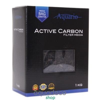 Купить Наполнитель для абсорбирующей очистки Aquario Active Carbon 1кг в Киеве с доставкой по Украине