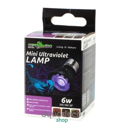 Купить Мини ультрафиолетовая лампа UVB Repti-Zoo Mini UV LED 6W в Киеве с доставкой по Украине
