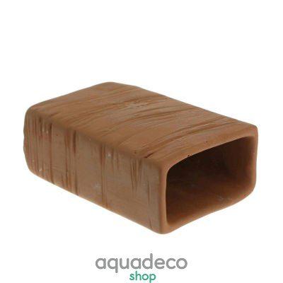Купить Грот керамический Aqua Nova прямоурольный -M- 6x4x10см в Киеве с доставкой по Украине