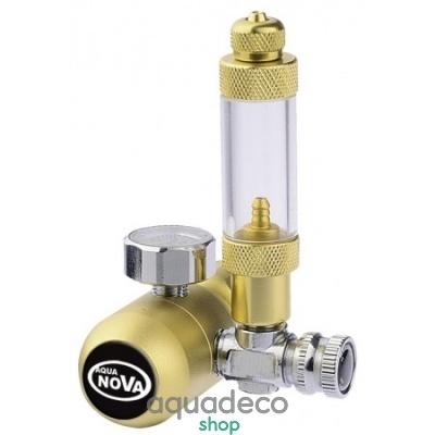 Купить Редуктор CO2 Aqua Nova NCO2-REG с счетчиком пузырьков в Киеве с доставкой по Украине