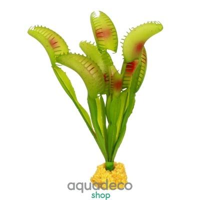 Купить Искусственное растение Yusee Мухоловка 18x18x17см в Киеве с доставкой по Украине