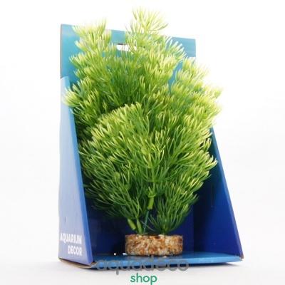 Купить Искусственное растение Yusee Зеленая Кабомба 20см в Киеве с доставкой по Украине
