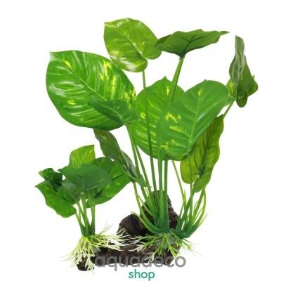 Купить Искусственное растение Yusee анубиасы на корню 15x10x22см в Киеве с доставкой по Украине