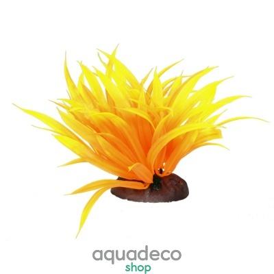 Купить Искусственное растение Yusee Длиннолистный желтый 12-15см в Киеве с доставкой по Украине