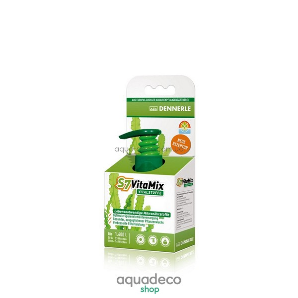 Комплекс жизненно важных мультивитаминов и микроэлементов для аквариумных растений S7 VitaMix, 50 мл: купить в киеве, цена, фото, обзор, инструкция. Aqua-Deco.com.ua