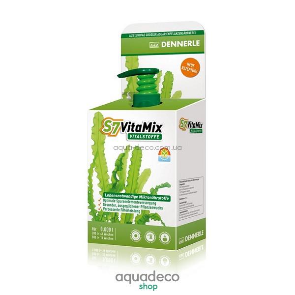 Комплекс жизненно важных мультивитаминов и микроэлементов для аквариумных растений S7 VitaMix, 250 мл: купить в киеве, цена, фото, обзор, инструкция. Aqua-Deco.com.ua
