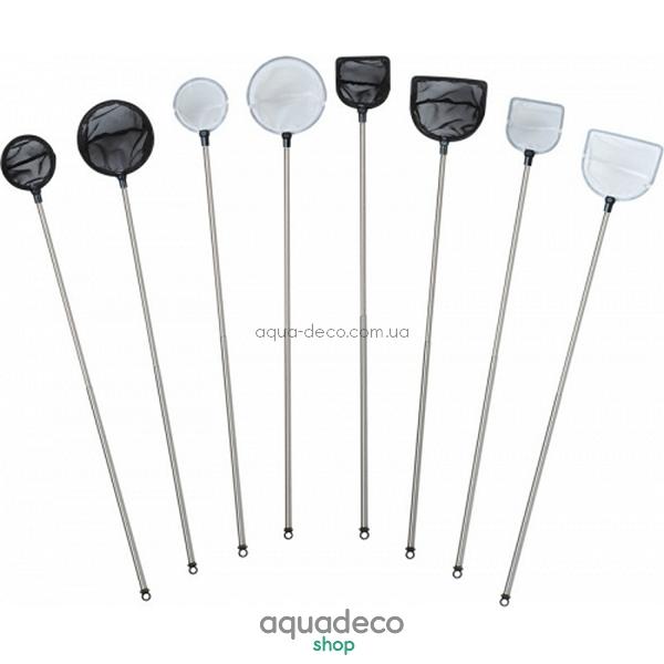 Сачок для креветок, круглый, большой, телескопический, цвет белый: купить в киеве, цена, фото, обзор, инструкция. Aqua-Deco.com.ua