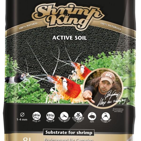 Активный донный грунт для пресноводных аквариумов с креветками Shrimp King  Active Soil 1-4 mm, 8 литров: купить в киеве, цена, фото, обзор, инструкция. Aqua-Deco.com.ua