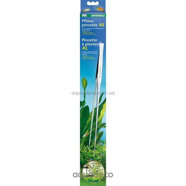 Пинцет для растений Dennerle Pflanzpinzette XL 45 cm: купить в киеве, цена, фото, обзор, инструкция. Aqua-Deco.com.ua