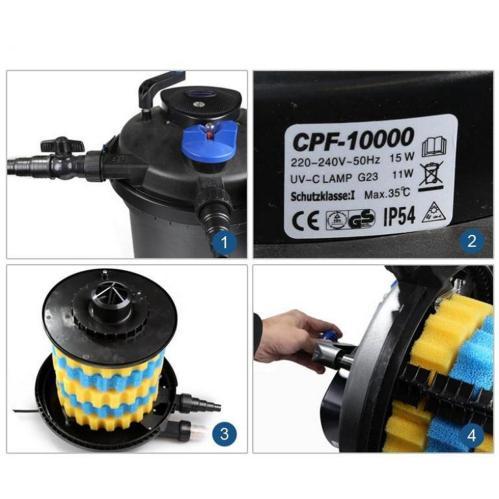 Sunsun CPF-10 000 (СанСан CPF-10 000) купить в Киеве - AquaDeco Shop