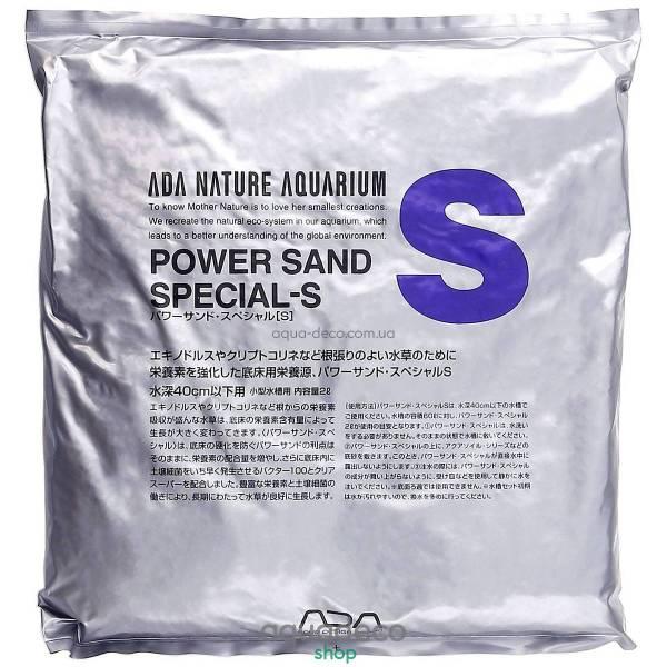 ADA Power Sand Special-S субстрат для аквариума 104-011 - aqua-deco.com.ua