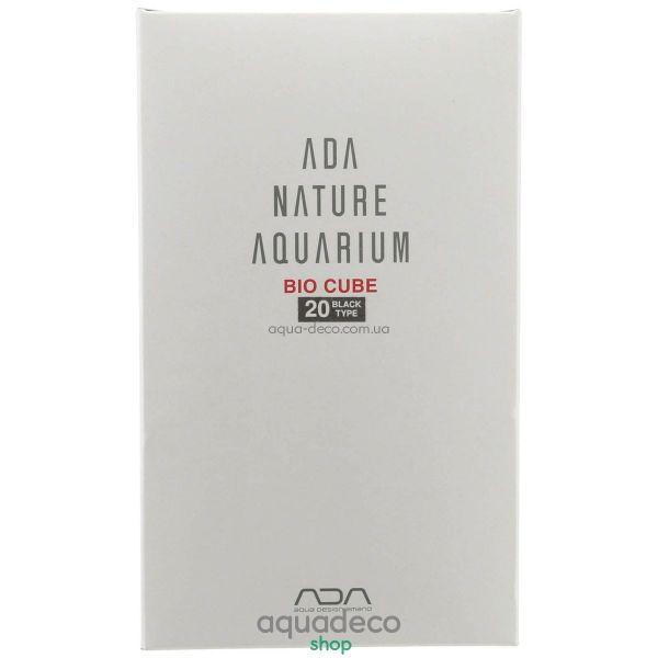 ADA Bio Cube 20 Black 2l Фильтрационные материалы 105-015 - aqua-deco.com.ua