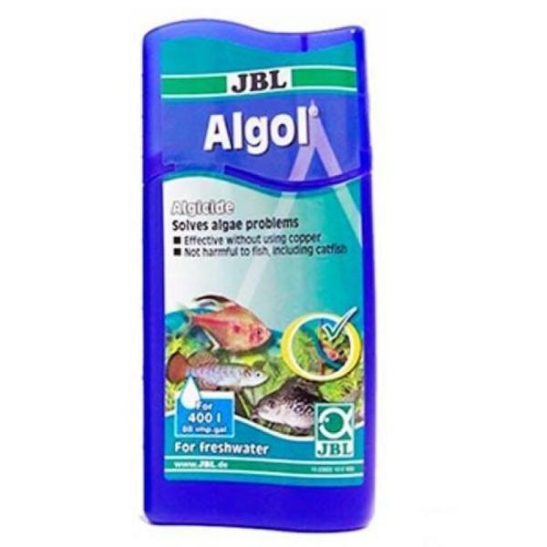 JBL Algol кондиционер для борьбы с водорослями в пресноводном аквариуме, 250 мл