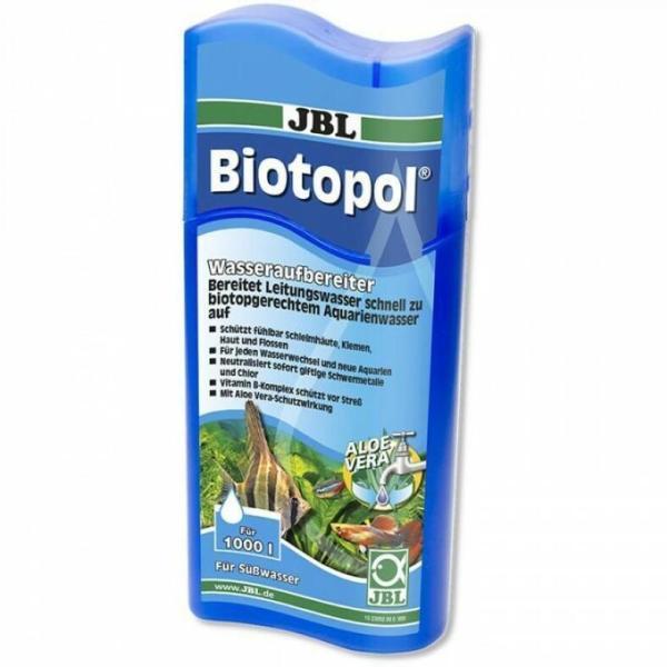 Кондиционер JBL Biotopol для пресноводных аквариумов