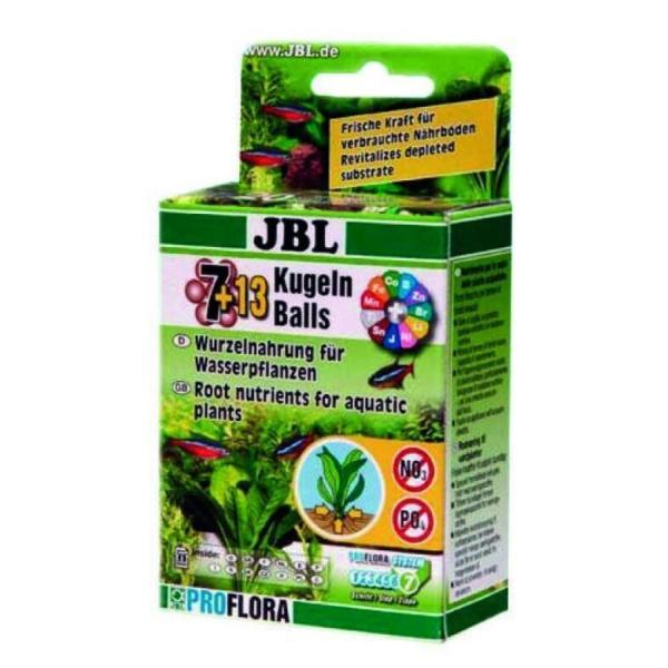 JBL The 7 Balls +13 корневое удобрение для пресноводных аквариумов (20 шариков)