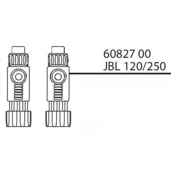 JBL Запасная часть КРАН для фильтра JBL CRISTAL PROFI 120/250.