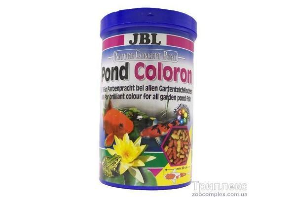 JBL POND Coloron корм для прудовых рыб, 1 л