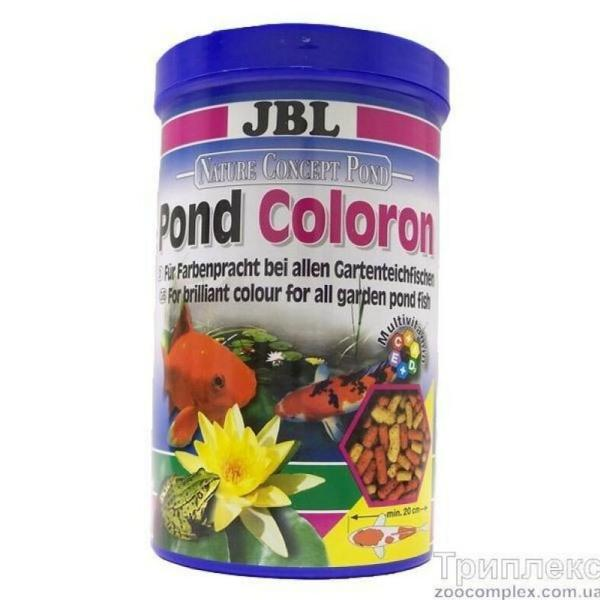 JBL POND Coloron корм для прудовых рыб, 5.5 л