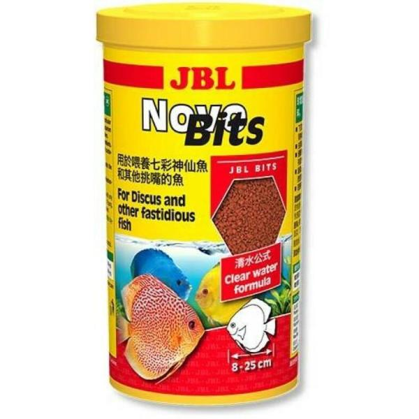 Корм для рыб JBL Novo Bits, 1 л, с дозатором