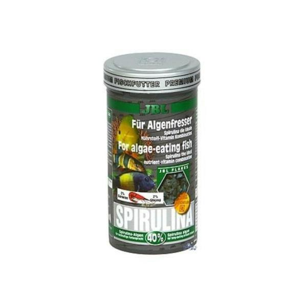 Корм для рыб JBL Spirulina хлопьевидный корм для рыб, 1 л