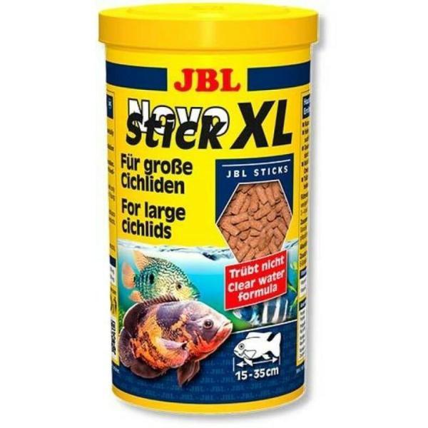 Основной корм JBL NovoStick XL в форме гранул для крупных хищных цихлид