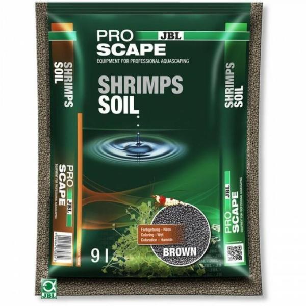 Специальный грунт JBL ProScape Shrimps Soil BROWN для аквариума с креветками