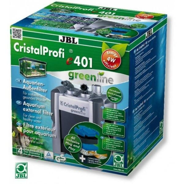 JBL CristalProfi e401 GreenLine внешний фильтр для аквариума до 120 литров