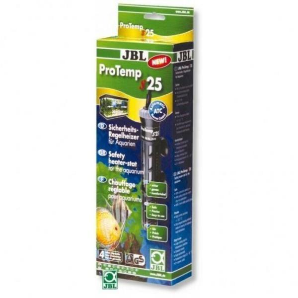 Регулируемый нагреватель 25 Вт с защитным кожухом JBL ProTemp S 25 для аквариума: купить в Киеве