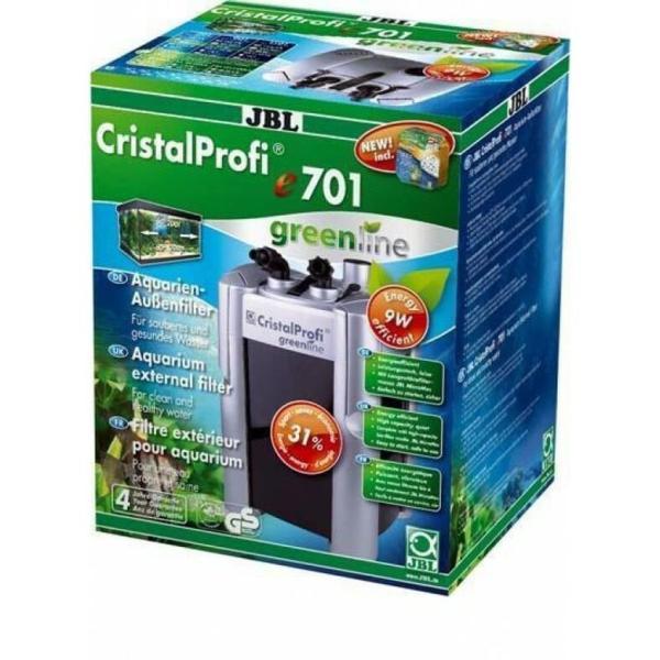 Внешний фильтр JBL CristalProfi e701 greenline для аквариумов 60-200 л: купить в Киеве