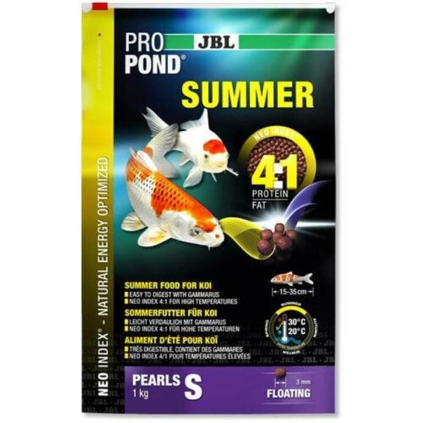 JBL ProPond Summer корм для карпов Кои летний S, 1 кг