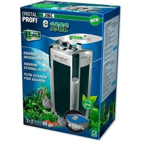 JBL CristalProfi e1902 GreenLine внешний фильтр для аквариума до 800 литров