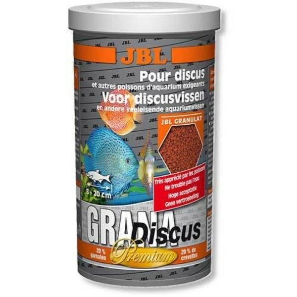 Корм для рыб JBL GranaDiscus корм в форме гранул для дискусов 1 л