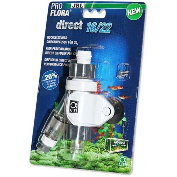 Эффективный непосредственный диффузор для CO2 JBL ProFlora Direct 16/22