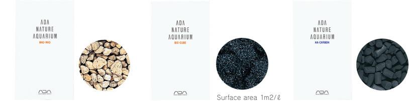 Наполнители для фильтрации в аквариуме ADA