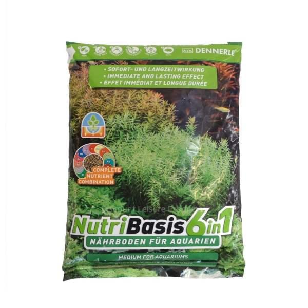 Купить Dennerle Nutri Basis 6 in 1 2,4 кг Грунтовая подкормка для аквариумных растений: описание, инструкции