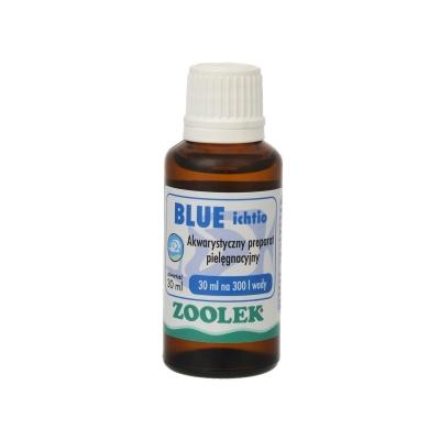 Препарат против водорослей, бактерий ZOOLEK Blue ichtio  (ZL0021) 0021 blue ichtio 30ml AquaDeco Shop