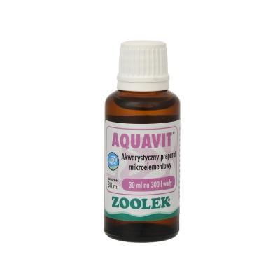 Стимулятор роста рыб и растений ZOOLEK Aquavit  (ZL0111) 0111 aquavit 30ml AquaDeco Shop