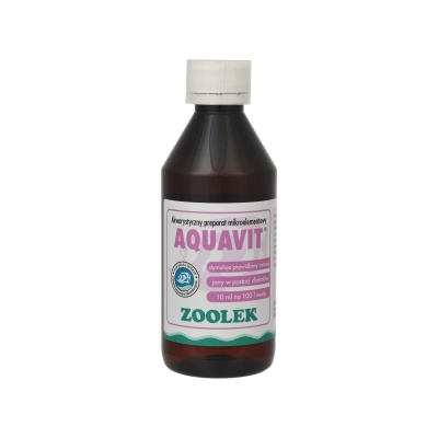Стимулятор роста рыб и растений ZOOLEK Aquavit  (ZL0118) 0118 aquavit 250ml AquaDeco Shop