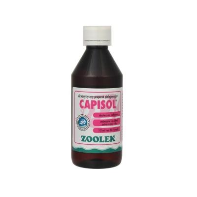Против нематод, ленточных червей, трематод ZOOLEK Capisol  (ZL0538) 0538 capisol 250ml AquaDeco Shop