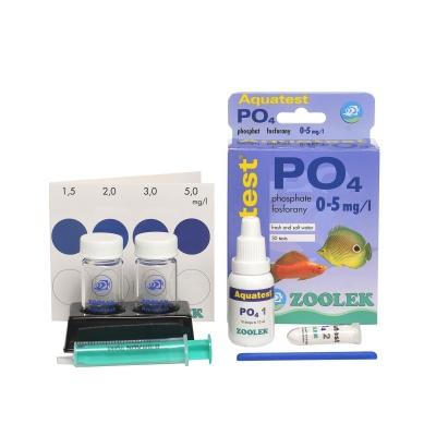 Тест на фосфаты ZOOLEK Aquatest PO4  (ZL1060) 1060 aquatest po4 components AquaDeco Shop