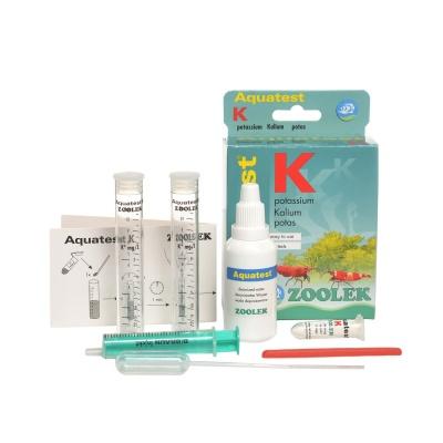 Тест на содержания калия ZOOLEK Aquatest K  (ZL1120) 1120 aquatest k components AquaDeco Shop