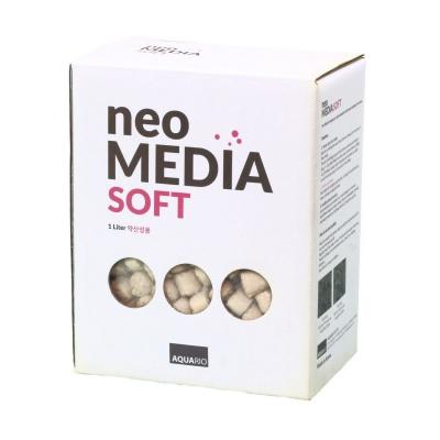Наполнитель AQUARIO Neo Media Soft для биофильтрации с понижением pH  (neomedia-s1) Neo Media Soft1l1 AquaDeco Shop