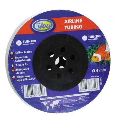 Шланг AQUA-NOVA 4_6мм силиконовый  (TUB-100) TUB 100 AquaDeco Shop