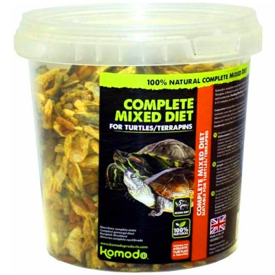 Корм для водных черепах KOMODO Complete Diet for Turtles 240g (83292) komodo complete diet for turtles 240 AquaDeco Shop
