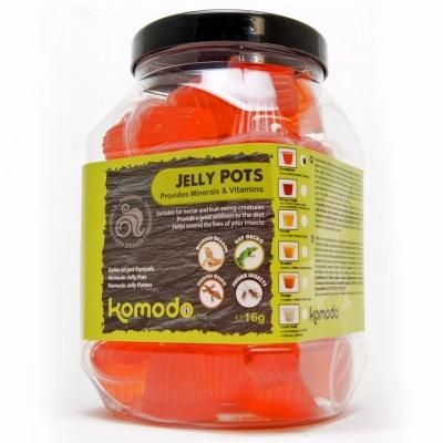 Корм клубничный в геле KOMODO Jelly Pot Strawberry Jar  (83254) komodo jelly pot strawberry jar2 AquaDeco Shop